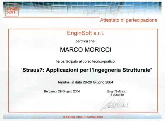 Straus7 - Applicazioni per l'ingegneria strutturale