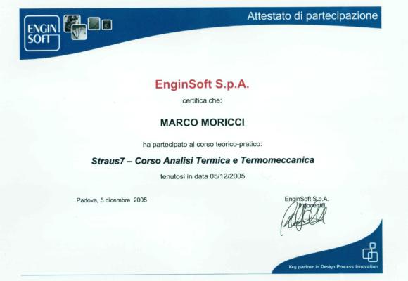 Straus7 - Corso analisi termica e termomeccanica